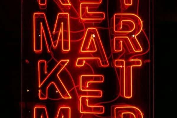 image of a digital marketing sign